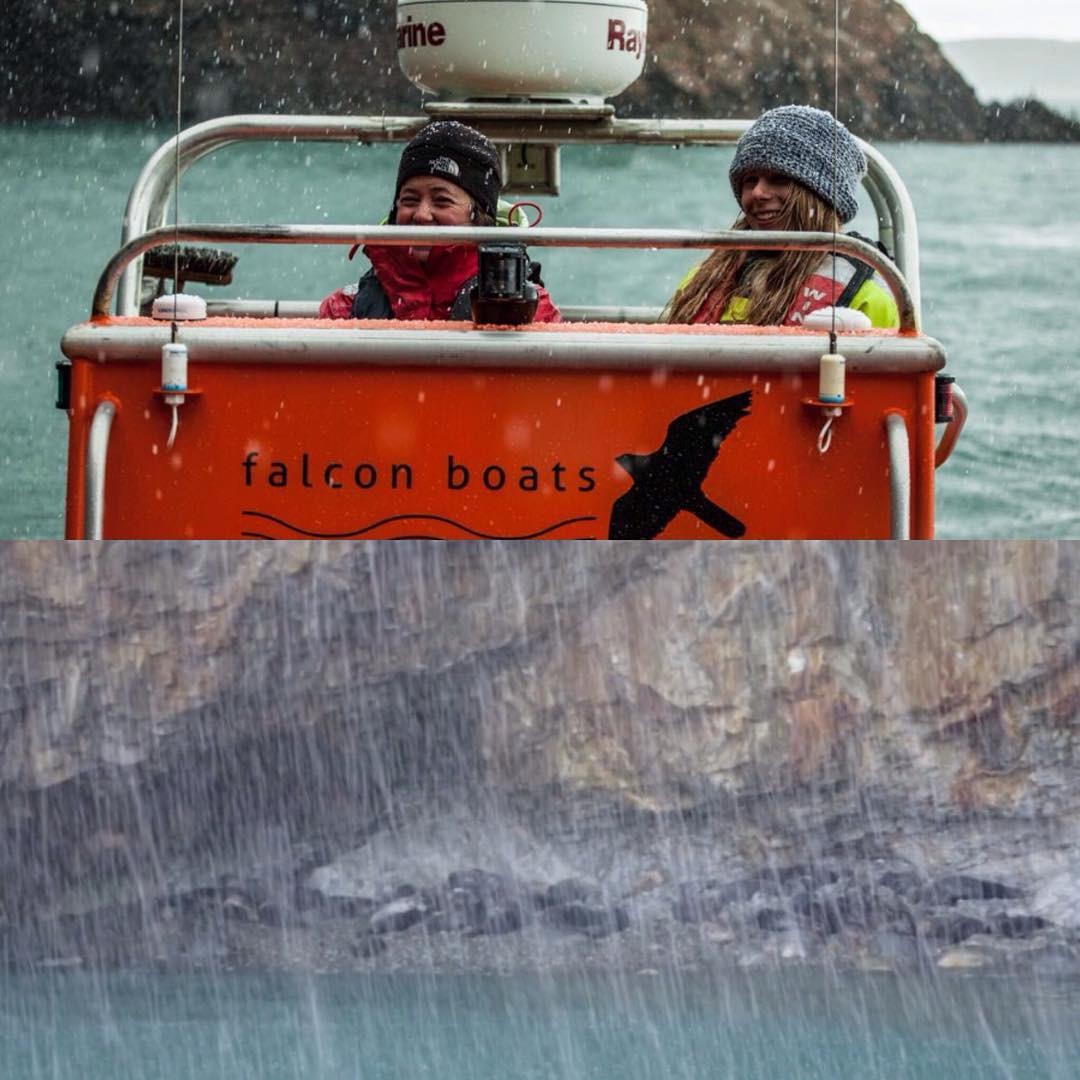 Falcon boats, filming for the Welsh National Parks