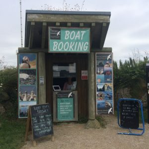 Pembrokeshire boat trips, boat booking office